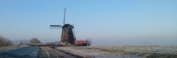 Rijpwetering in de winter