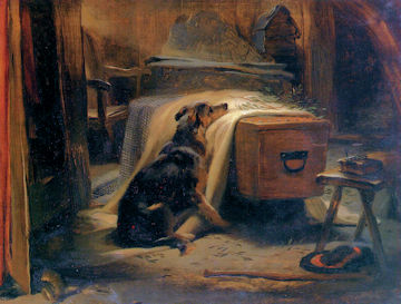 The Old Shepherd's Chief Mourner - Edwin Lanseer
